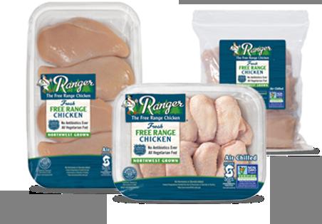 Ranger The Free Range Chicken | Draper Valley Farms