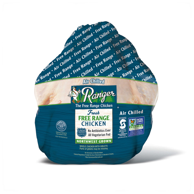 RANGER® FREE RANGE WHOLE CHICKEN