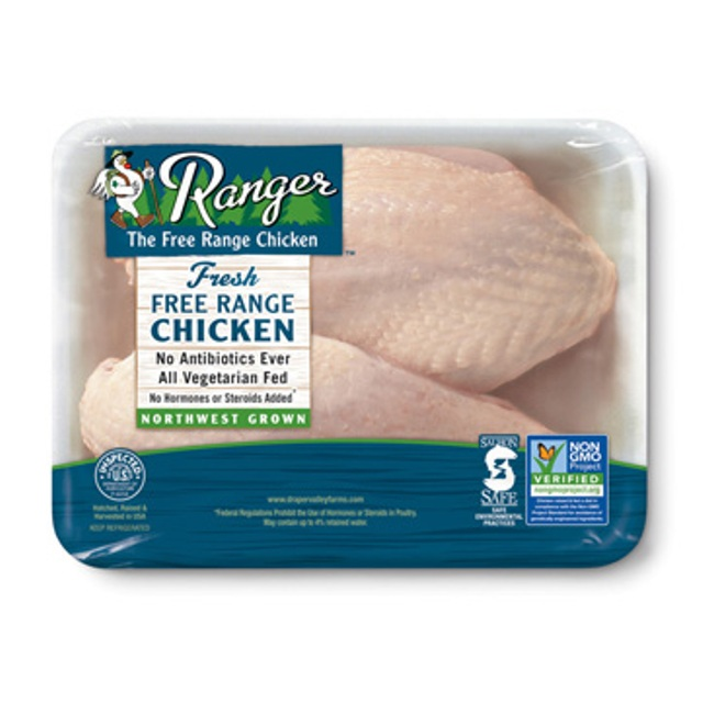 RANGER® Free Range Bone In Split Chicken Breasts