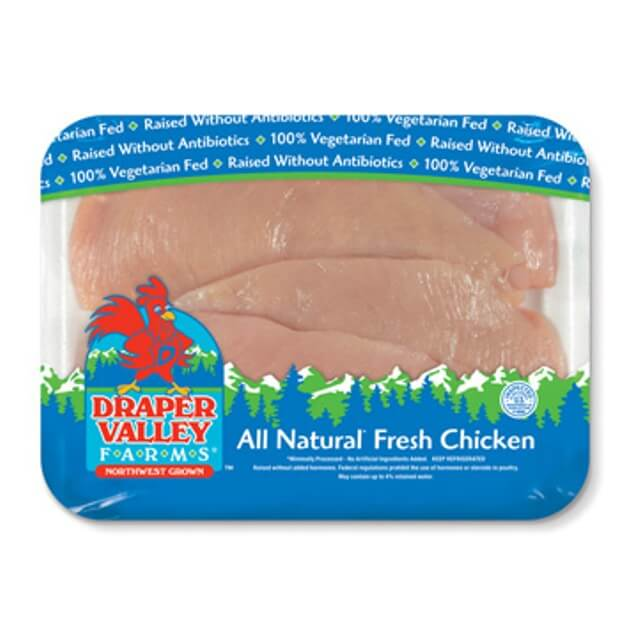 Thin Sliced Boneless Skinless Chicken Breasts