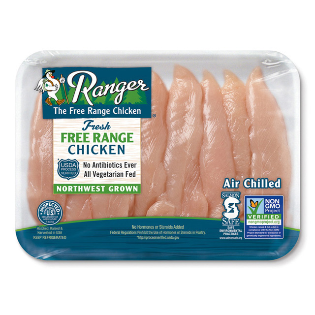 RANGER® Free Range Boneless Skinless Chicken Breast Tenders