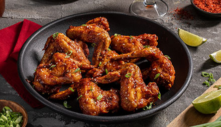 Air Fryer Korean Chicken Wings