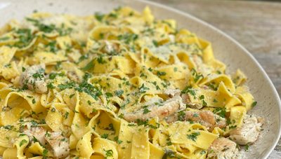Lemony Chicken Tagliatelle